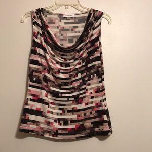 Calvin Klein sleeveless blouse. Size M